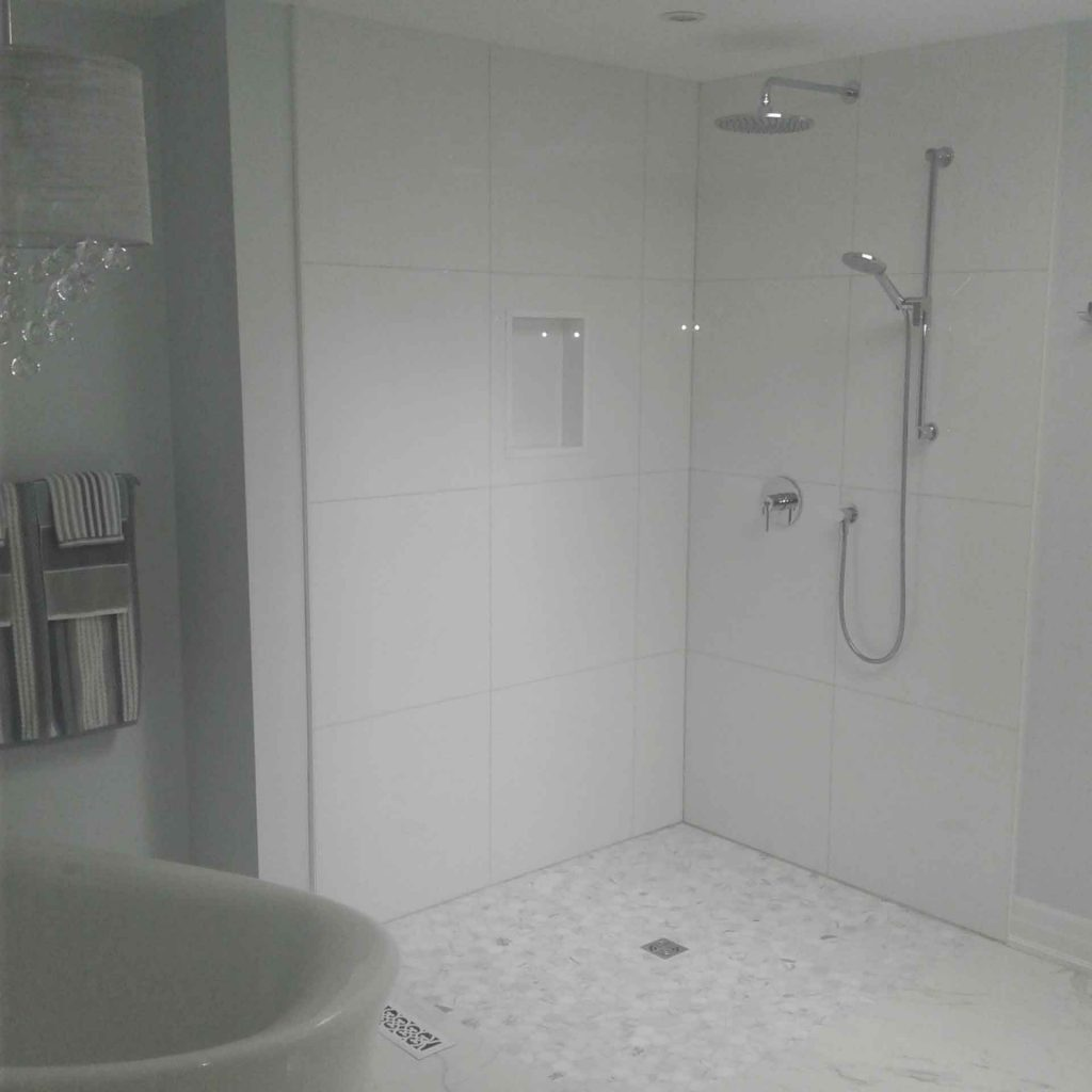 new bathroom design trends shower wall niche