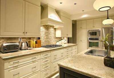choosing stone countertops with a  modern style